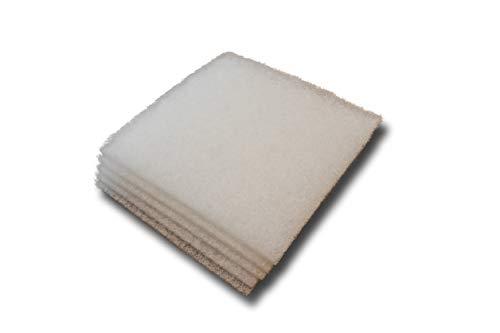 White Filter Media – 5 Pack – 3/4″ x 12″ x 12″ Pad