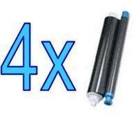 4 x Brother PC71RF trasferimento termico per Fax T74 T76 T78 T71 T82 T84 T86 T94 T96 T98 T 106-4 T104, confezione Madaboutink