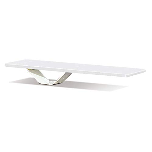 - S.R. Smith 68-209-58662 Frontier II Jump White Stand with 6-Foot Frontier II Diving Board, White