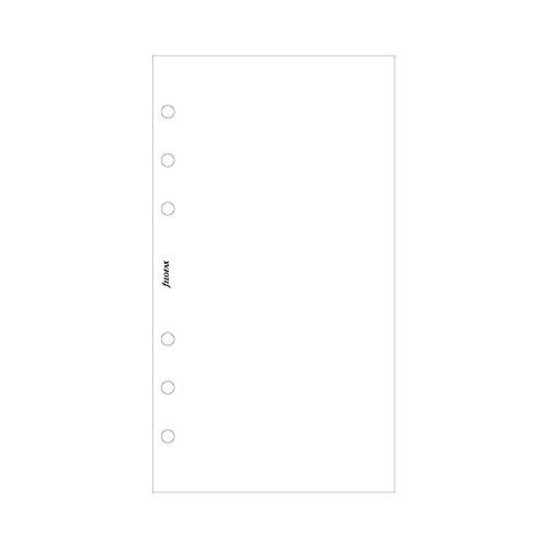 Notepaper White Personal (Filofax Plain White (100 Pack) (B132451))