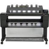 HP Designjet T1500 PostScript Inkjet Large Format Printer - 35.98'' - Color by HP