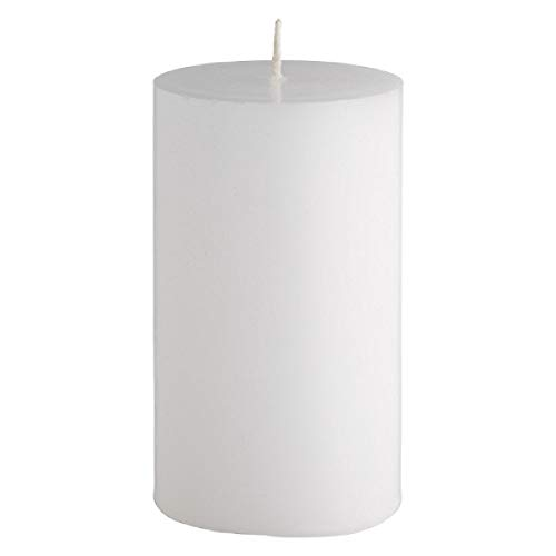 (Unscented Soy wax 2.95inch x 4.4inch Pillar Candle)
