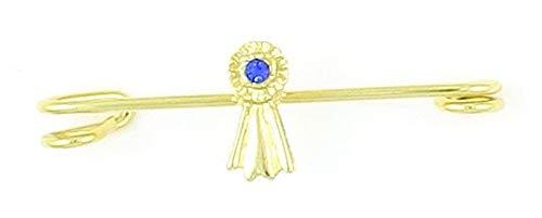 FINISHING TOUCH Blue Ribbon Stock Pin