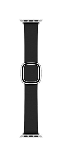 Apple Modern Buckle Band - 38mm - Black - Large by Apple