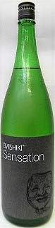 日本酒 Sensation 4 Black センセーション ブラック 特別純米酒 黒ラベル1800ml 【笑四季酒造】