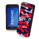 Forever Collectibles New England Patriots Camouflage Hard Snap-On Apple iPhone 5 & 5S Case ()