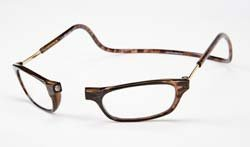 Clic Magnetic Reading Glasses Tortoise +2.00