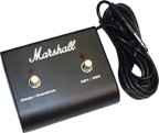 Original Marshall Footswitch, Two Button With LED (Clean / Overdrive, OD1 / (Two Button Footswitch)