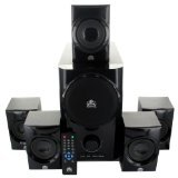 Acoustic Audio AA5160 Home Theater 5.1 Speaker System 500W with Powered Sub by Acoustic Audio by Goldwood