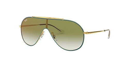 Ray-Ban 0rj9546s Non-Polarized Iridium Cateye Sunglasses, Gold on Top Turquoise, 51.0 mm by Ray-Ban