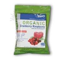 Cranberry Raspberry Lozenge (Zand Organic Herbal Lozenge Cranberry Raspberry, 1 Bag)