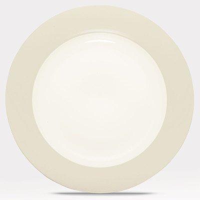 Noritake Colorwave Cream Rim Round Platter (Noritake Platter Stoneware)