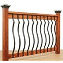 Ultimate European Baluster 32-1/4 - Black Smooth - 5pack