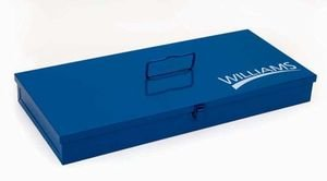 Williams TB-104 Blue Toolbox, 25 by 9 by 2-Inch (Williams Tool Chest)