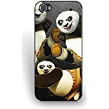 Pretty Cartoon Anime Pattern Series Iphone 5 Case/Iphone 5s Case Protective for Hipster, Iphone 5s/5 Phone Case Kung Fu Panda Cartoon Characters Durable