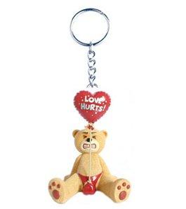 Stringfellow Bad Taste Bear Keyring Keychain