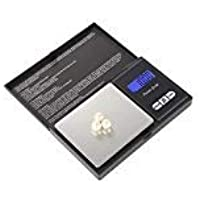 Guesthome Digital Milligram Pocket Scale 500g / 0.001g Food Scale, Jewelry Scale Black, Kitchen Scale with Back-lit LCD Display