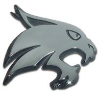 Texas State University (Bobcat) Emblem by Elektroplate