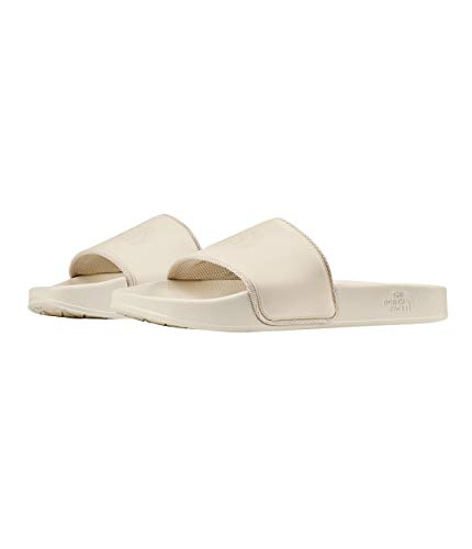 The North Face Women's Base Camp Slide II, Vintage White/Vintage White, Size 9