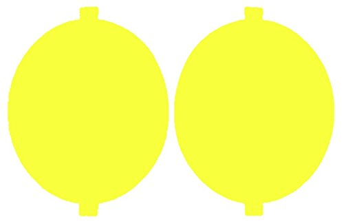 Precut Vinyl Tint Cover for 2006-2009 Volkswagen GTI Foglights (Yellow)