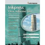 """Inkpress Inkjet 24"""" x 75' Repositionable Adhesive Clear I..."""