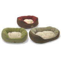 Precision Pet Snoozzy Pillow Soft Daydreamer Dog Bed SM Green