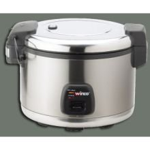Commercial Electric Rice Cooker & Warmer with Hinged Cover – 30 Cups