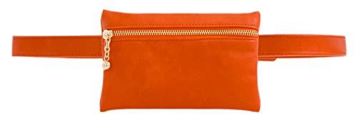 Front HandBags Zipper Girly HandBags Front Bag Zipper Girly Orange Bum Bum OHgqHwY
