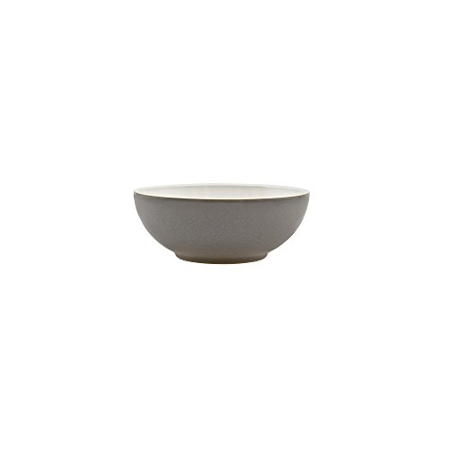 Cream Cereal Bowl (Denby USA Blends Truffle/Canvas Cereal Bowl, Brown/Cream)