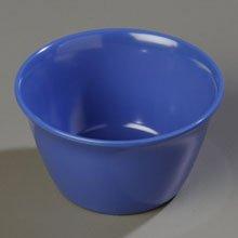 Carlisle (4354014) Bouillon Cups, Set of 24 (8-Ounce, Melamine, Blue)