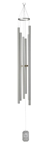 Grace Note Chimes 7PS Petite Steeple Sunrise Serenade Wind Chimes, 50-Inch, Silver Review