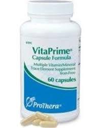 ProThera Vitaprime Iron-free 60 Capsules (Iron Free 60 Capsules)