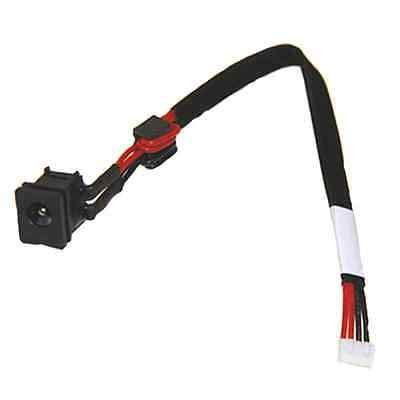 Computer Cables Yoton Wholesale New DC Power Jack Cable Connector for Toshiba Satellite C655D-S50852 C655D-S5200 C655D-S5202 Cable Length: Other