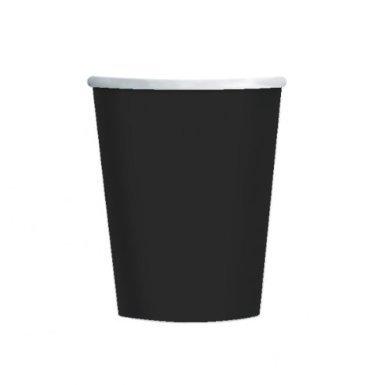 Black Paper Cups-9oz - 20 Per Unit -