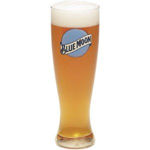 Moon Appliances Blue (Blue Moon Pint Glasses set of 4. These Blue Moon Pint Glasses are Made by Blue Moon and are a high quality and durable item.)