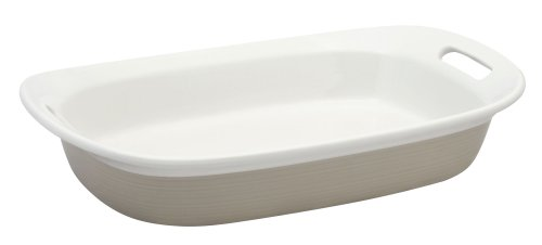 Corningware Etch Sand 3-qt Oblong Baking Dish