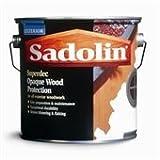 1ltr Sadolin Superdec Gloss Black