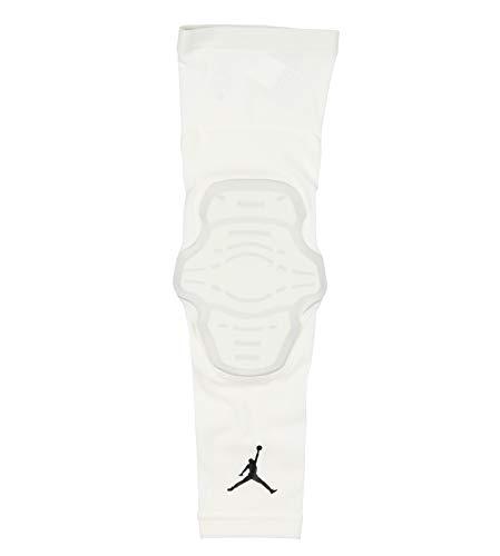 Jordan Men's Padded Basketball Elbow Sleeve Large/X-Large White (Basketball Sleeve Jordan)