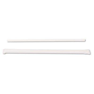 (Dixie Ultra JW74 Jumbo Straws, 7 3/4quot;, Plastic, Translucent, 500/Box)