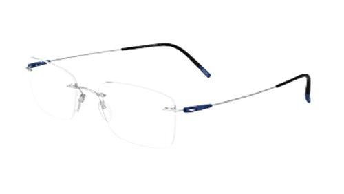 Eyeglasses Silhouette Dynamics Colorwave ( 5500 ) 7000 silver 53/19/150 3 - Glasses Silhouette