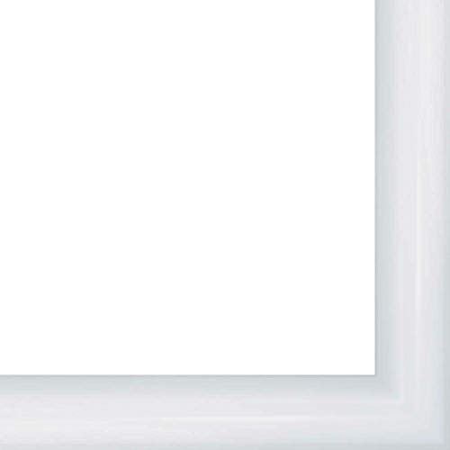 - 18x24 Rounded White Gloss 1.25
