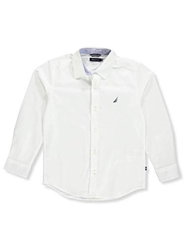 Nautica Little Boys' L/S Button-Down - White, ()