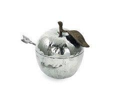 Michael Aram Apple Honey Pot Nickeplate ()