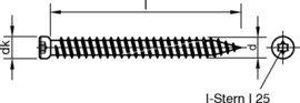 7,5mm x L/änge und Menge w/ählbar 152mm, 10 St. Fensterrahmenschrauben Fensterschrauben ZYLINDERKOPF