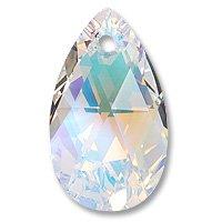 (Swarovski Pear Shape Pendant 6106 22mm Crystal AB (Package of 1))