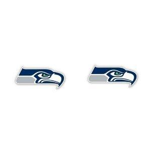 Seattle Seahawks NFL Logo Stud Fan Earrings - Seahawks Earrings