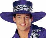 Pimp Hat (Purple Pimp Hat - Big Poppa)