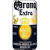 Corona Extra Beer iPhone 5 Case / iPhone 5s Case (Black Plastic) (Corona Extra Crystals)