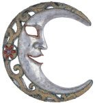 Artistic Mosaic Moon Celestial Wall Plaque Decoration Art Collection