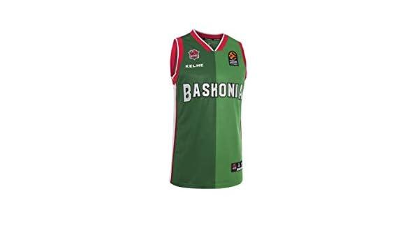KELME - Camiseta 2ª 18/19 Kirolbet Baskonia: Amazon.es: Deportes y ...